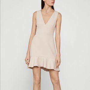 BCBG blush mini swing dress
